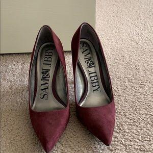 Sam & Libby maroon heels